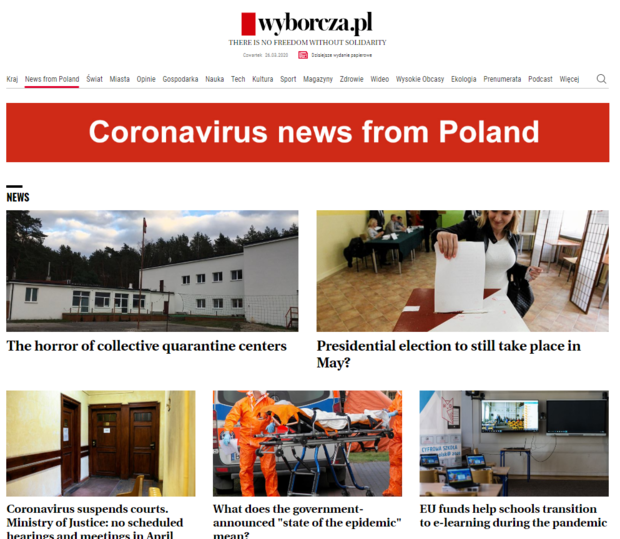 news from poland a special section on wyborcza pl for foreigners in poland wan ifra